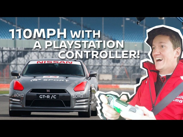 Driving a Life Size Remote Controlled GT-R - Lucas Ordóñez Reacts!