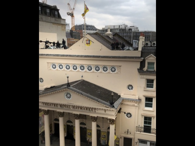 "Gary Barlow on Instagram: ""It's been a while since I've sung on a roof @bandmusical london @theatreroyalhaymarket"""