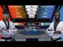 M 80kg Cheick Sallah Cisse CIV VS Hwan Namgoong KOR 2017 2018 Season WT Grand Slam Finals