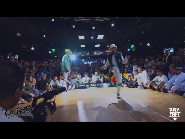 Slim Boogie vs Greentek | Top Status (Popping Final)