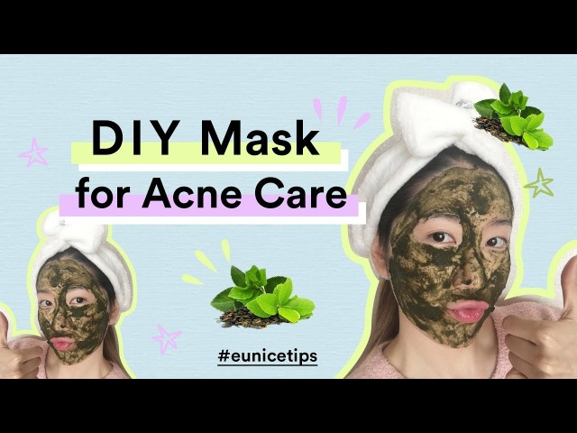 DIY GREEN TEA MASK FOR ACNE | GET CLEAR SKIN IN 7 DAYS