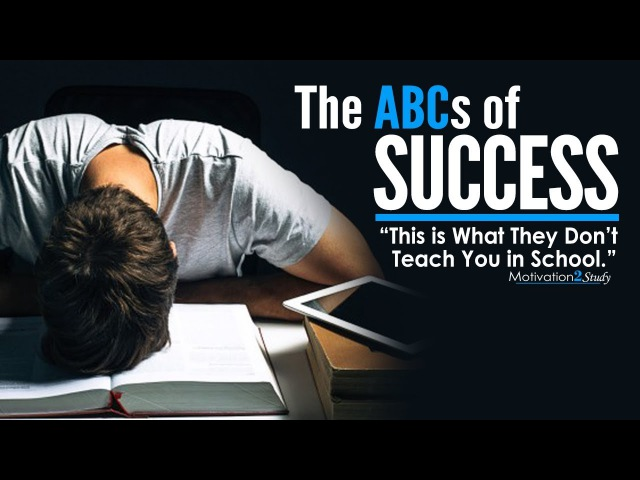 The ABCs of SUCCESS Amazing Motivational Video for Students Studying Success in Life