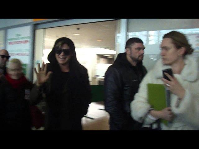 Adam Lambert in Pulkovo. 19.03.2013 part1