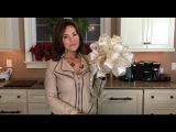 How to Make a Christmas Bow with Lisa Robertson