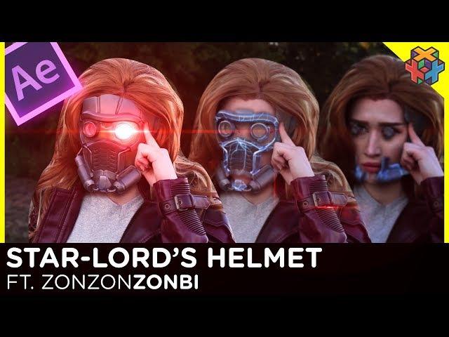 Star Lords Helmet - After Effects Tutorial ft ZonZonZonbi