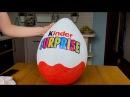 Как сделать большое яйцо киндер сюрприз как у Мисс Кэти и Мистер Макса своими ру ...