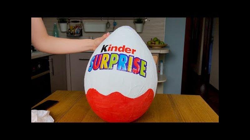 Как сделать большое яйцо киндер сюрприз как у Мисс Кэти и Мистер Макса своими ру » Freewka.com - Смотреть онлайн в хорощем качестве