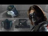 The Winter Soldier Mask Cardboard (Part 2)