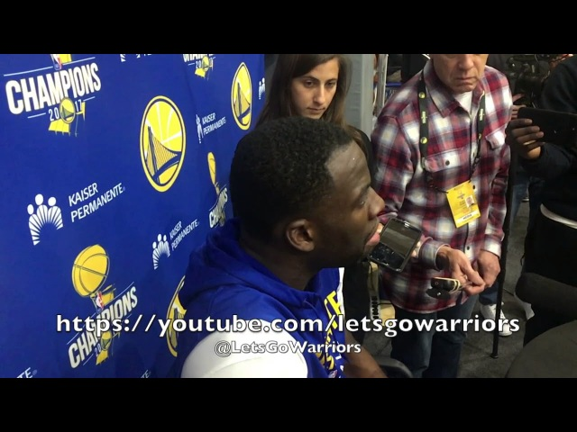 Entire DRAYMOND interview from practice, day before Clippers: