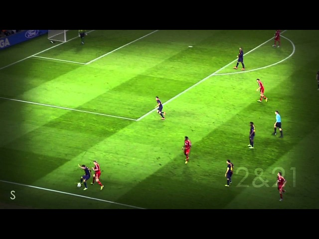 Schweinsteiger Martínez Boss The Midfield VS. FC Barcelona [PART II] - CL 12/13 Semi-final [HD
