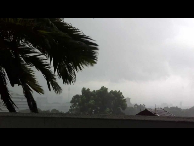 Kuala Lumpur tropical thunderstorm