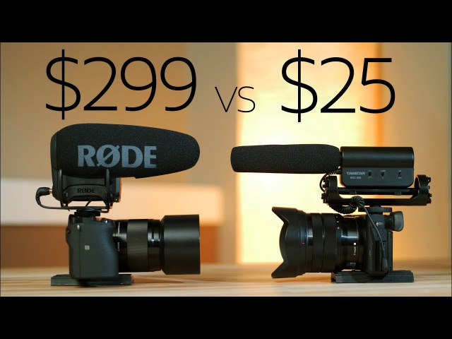 $25 vs $299 - Takstar beats the Rode VideoMic Pro ? 😲