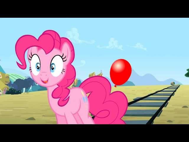 Pinkie's Balloon My Little Pony Friendship Is Magic Season 4