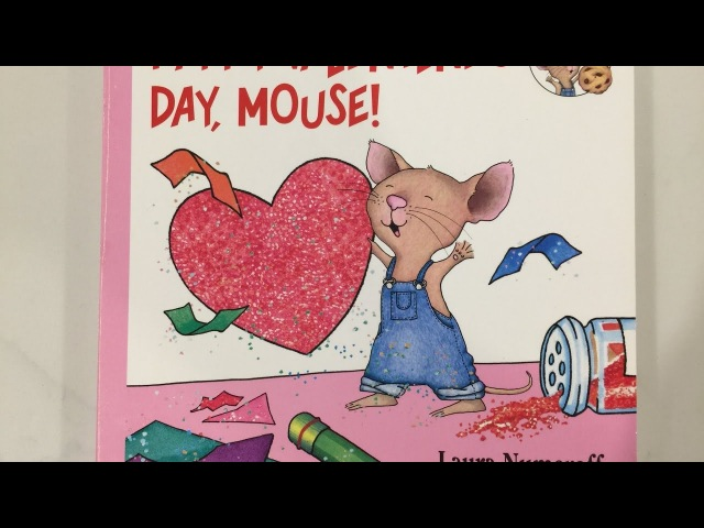 Happy Valentines Day, Mouse! - Kids and Toddler Books Read Aloud - More stories at Story Time Dad