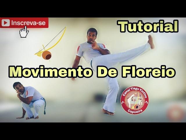 Capoeira vídeo aula tutorial movimento de floreio