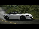 Assetto Corsa - Chevrolet Corvette HGK (800hp)  Mt. Akina Uphill (Thrustmaster T300RS)