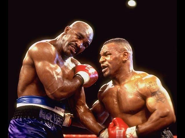 Бокс Майк Тайсон v Эвандер Холифилд комментирует Гендлин Mike Tyson vs Evander Holyfield