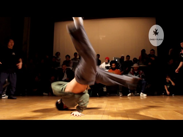 Bboy Issei (Foundnation). Winner of the Undisputed wild card at Battle Pro Japan.
