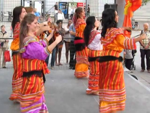 Kabyle and Tunisian folk dances - Sanaa Dance Company, Festival Orientalys, Montreal