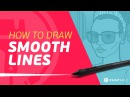 How to Draw PERFECT Smooth Lines on Your Tablet 3 Life Saving Tips