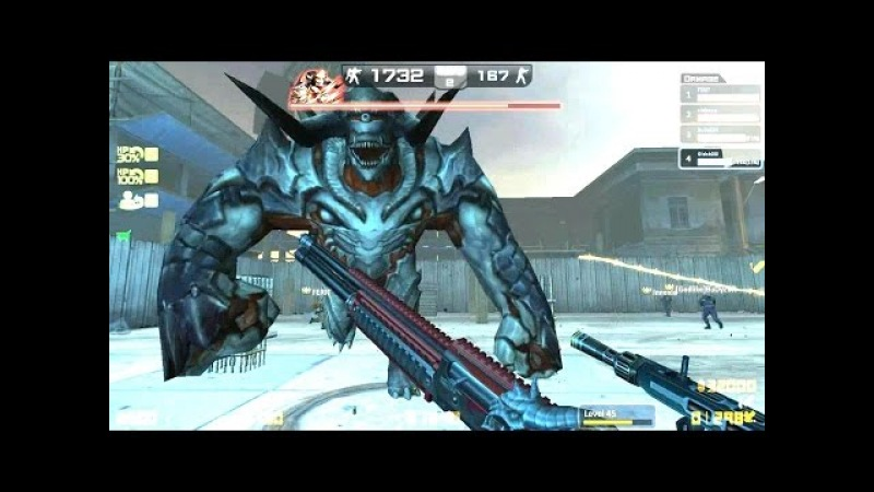Counter-Strike Nexon: Zombies - Oberon Zombie boss Fight online gameplay on Dead End map