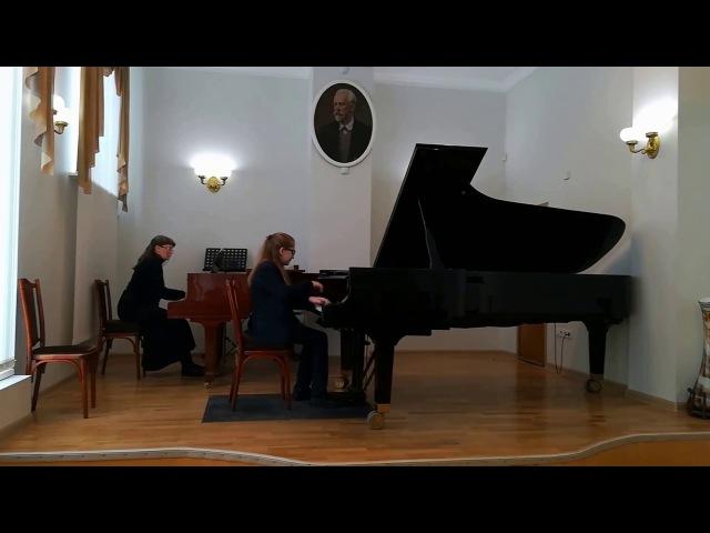Ю.Полунин Концертино a-moll Василий Зубков 04/03/2018