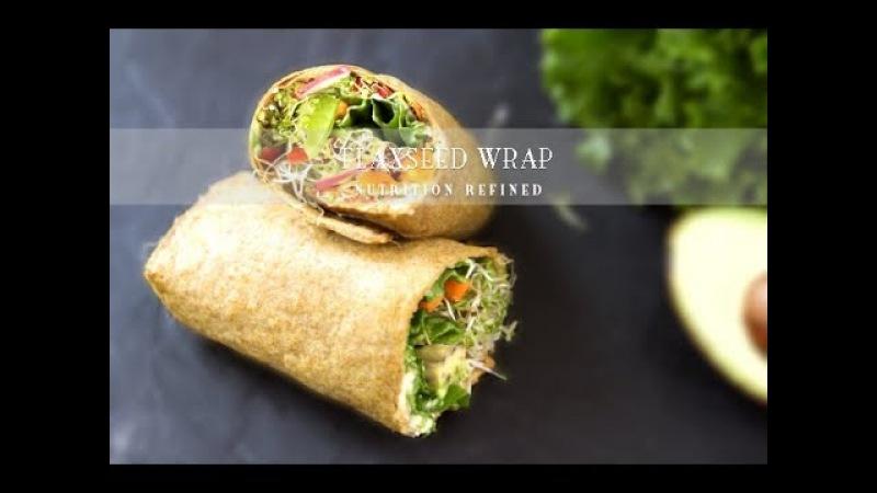 Flaxseed Wraps | Vegan, Paleo