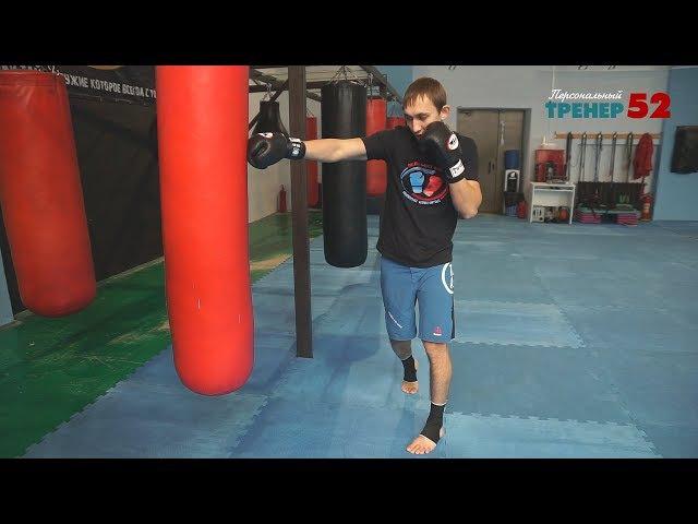 Эффективные связки в тайском боксе / Комбинации ударов руками и ногами