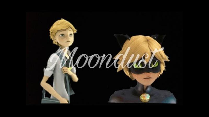 Miraculous Moondust adrein /chat noir