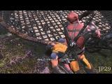 Deadpool Bitch Slaps Wolverine