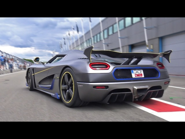 Koenigsegg Agera RS - Engine Start Accelerations!