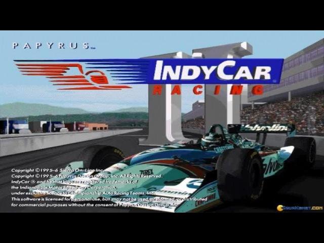 Indycar Racing 2 gameplay (PC Game, 1996)