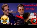 Tom Holland takes Revenge on Robert Downey Jr Try Not to Laugh 2017