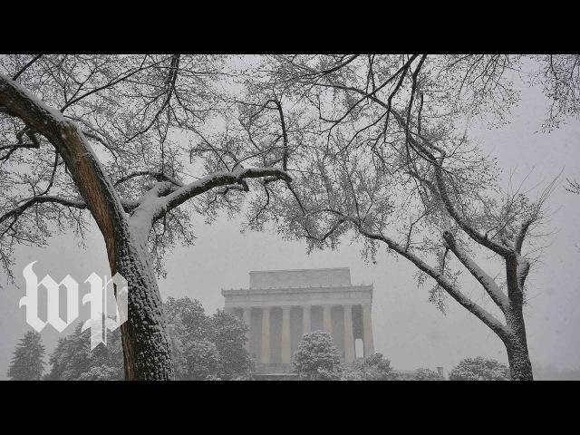 На США обрушился зимний шторм «Тоби»