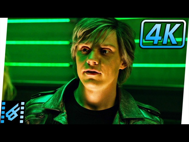 Quicksilver He's My Father Scene | X-Men Apocalypse (2016) Movie Clip