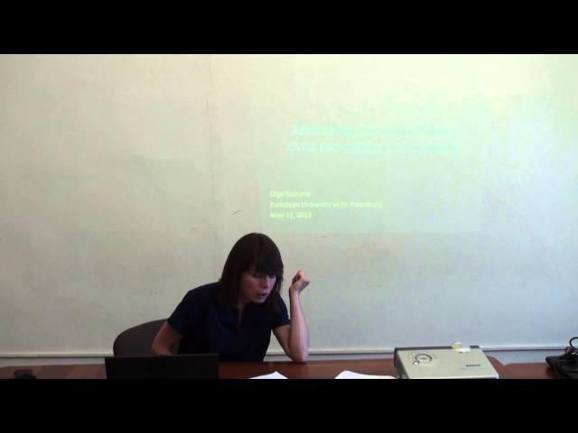 Assembling the Urban Public civics and politics of the bicycle | Ольга Сезнева | ЕУСПб | Лекториум