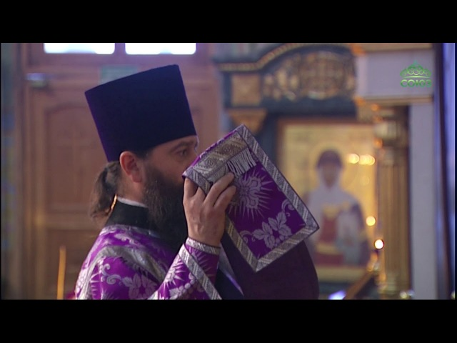 Всенощное бдение в Свято-Троицком кафедральном соборе г. Екатеринбурга