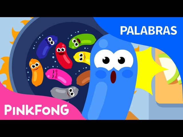 Colores | Palabras | Pinkfong Canciones Infantiles
