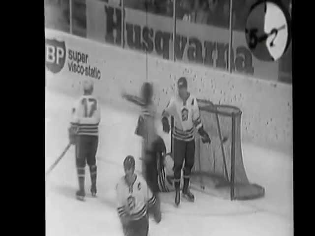 Хоккей. Швейцария ЧМ 71. СССР-ЧССР