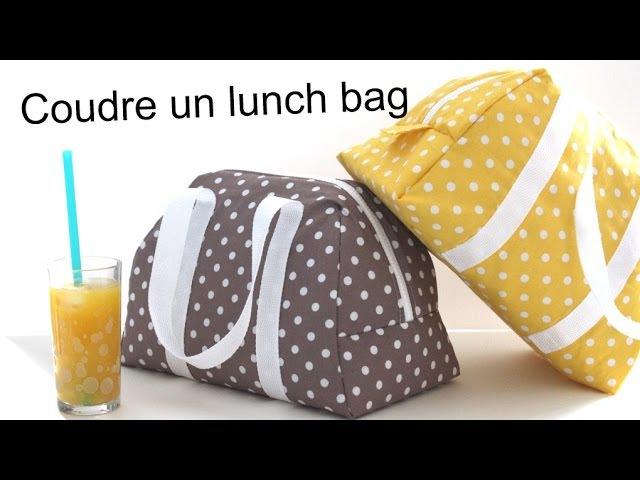Coudre le lunch bag Elsa / Sew a lunch bag Elsa