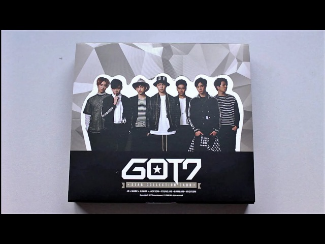 INTERNATIONAL UNBOXING DAY: GOT7 - STAR COLLECTION CARD MLSS