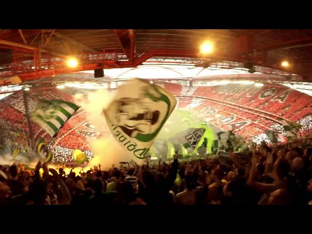 Benfica 0-3 Sporting - Invasão à Lixeira 25/10/2015