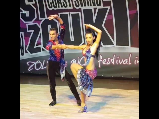 Michael and Aline Brazilian Zouk at the West Coast Swing Festival Brno