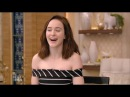 Rachel Brosnahan The Marvelous Mrs Maisel FULL Interview on Live with Kelly and Ryan
