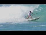 Сап-серфинг сессия Мо Фрайтаса на Гавайях