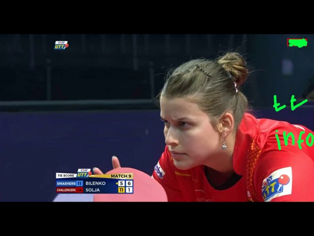 Bilenko Tatyana vs Solja Petrissa | UTT 2017 |