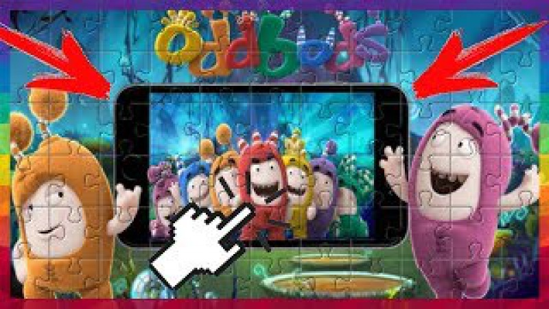 Oddbods iPhone PUZZLE GAMES FOR KIDS