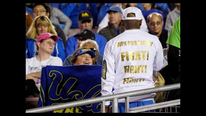 UCLA seniors celebrate bittersweet senior night without Jim Mora