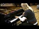 Valentina Lisitsa: take at Abbey Rd/London of Rachmaninoff Piano Concerto 1 Cadenza (Sept 2009)