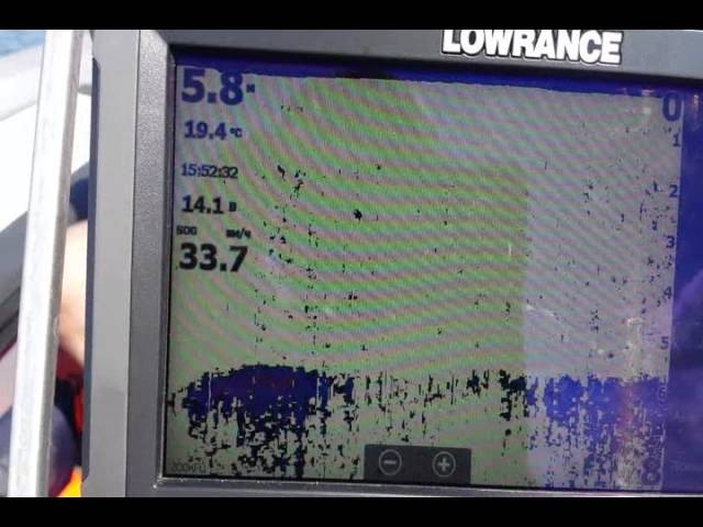 Lowrance HDS 9 Gen 3 работа эхолота
